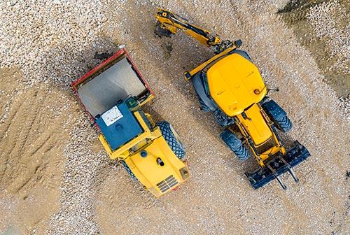 Alquilar maquinaria construcción
