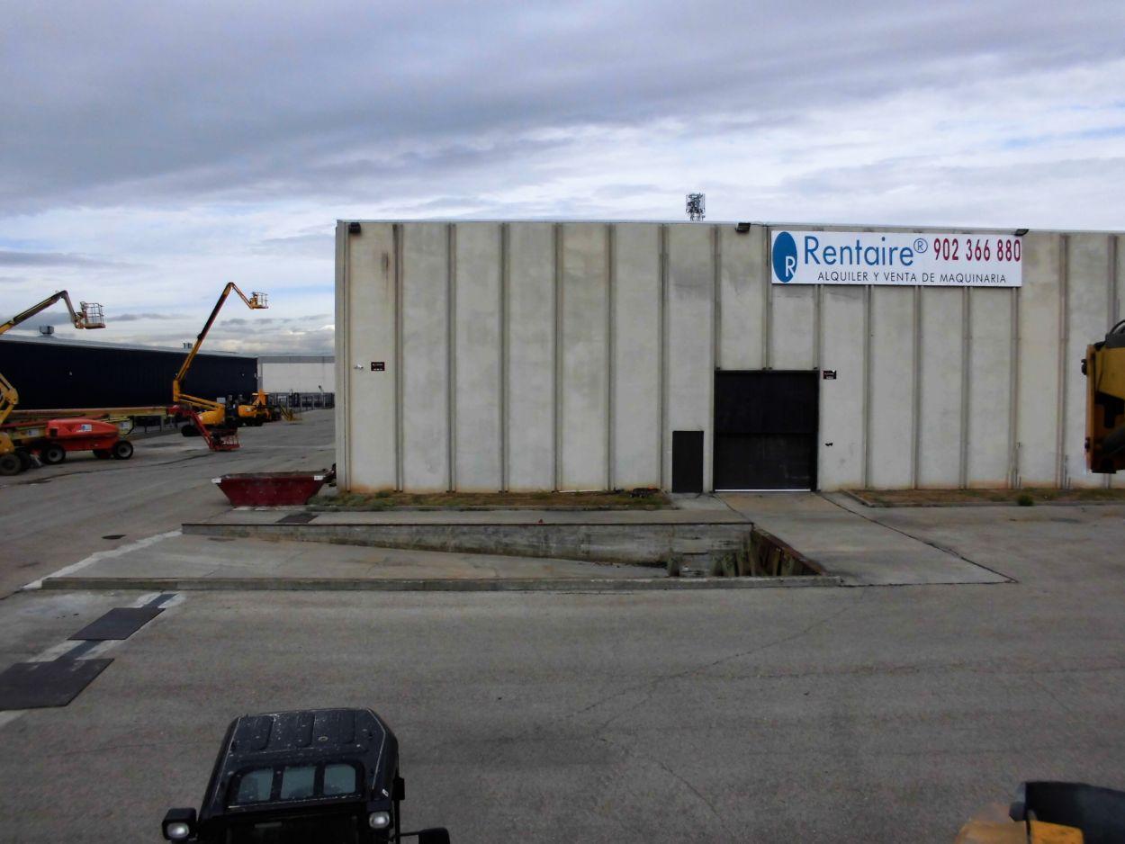 Alquilar maquinaria en Guadalajara - Mejoramos nuestras instalaciones
