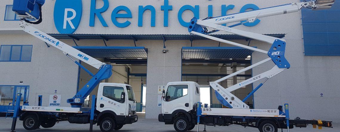 Plataformas sobre camión, furgoneta y Pickup 4x4
