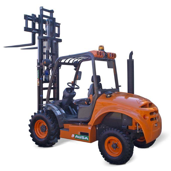 Carretilla elevadora de obra 1500 kg 4x4