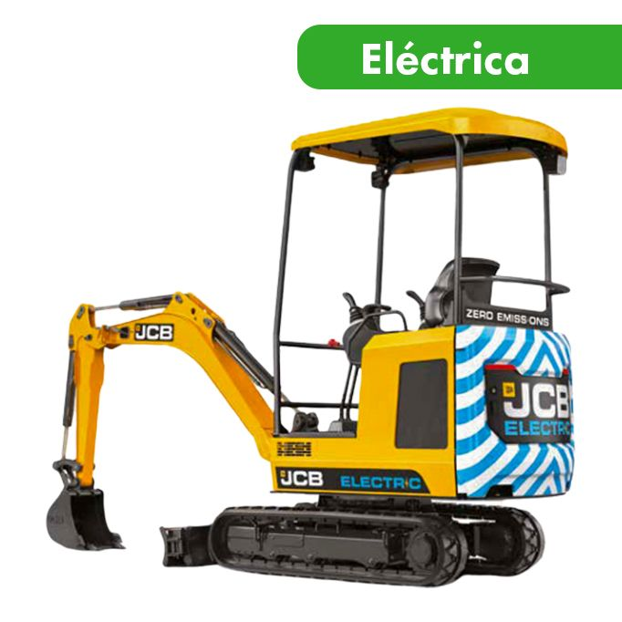 Miniexcavadora eléctrica 1900 kg Cazo no incluido