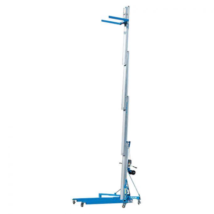 Elevador de carga manual 6,5 m