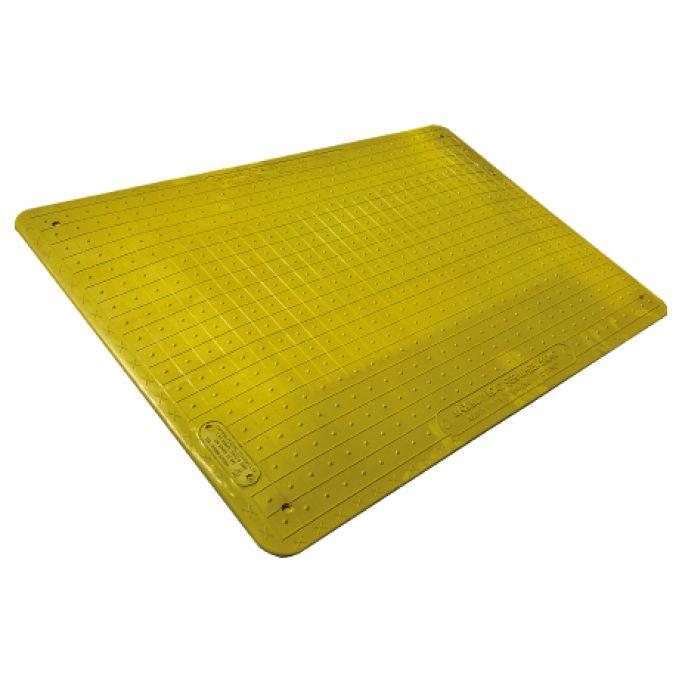 Placa cubrezanjas antideslizante para peatones