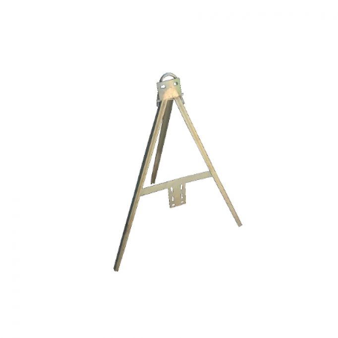 Trípode para señal aluminio galvanizado de 700 mm