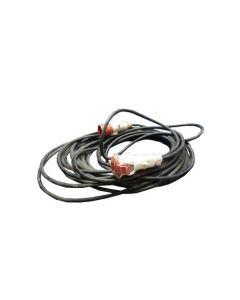 Cable con petacas trifásico 20 metros 63A