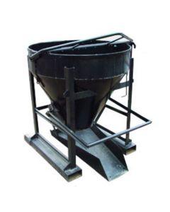 Cubo de hormigón para manipulador telescópico