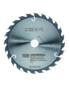 Disco madera 160 mm radial sierra circular