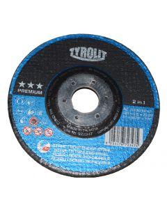 Disco 3mm 125mm radial eléctrica metal