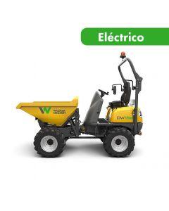 Dumper eléctrico desc. elevada artic. 1500 kg 4x4