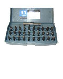 Juego puntas 31 piezas atornillador bateria