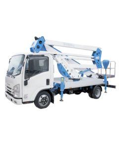 Plataforma sobre camión articulada Altura trab 20m