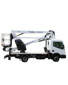 Plataforma sobre camión articulada Altura trab 18m