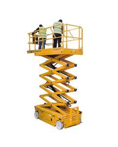 Plataforma tijera eléctrica Altura de trabajo 12 m